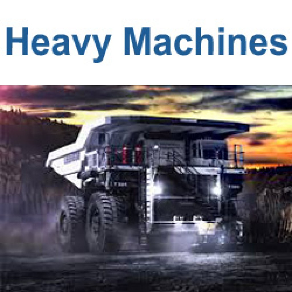Heavy maschines software