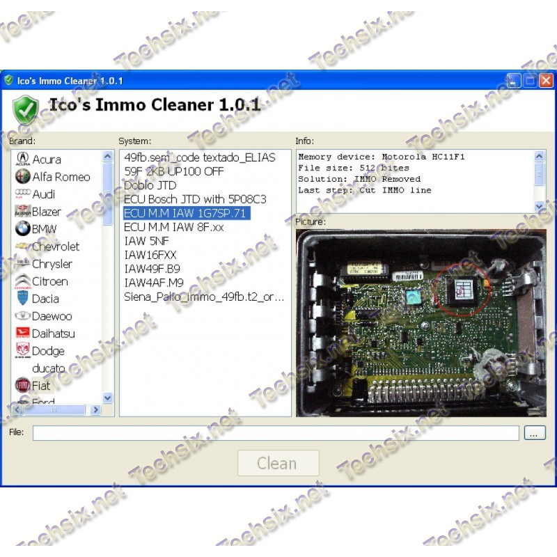 Icos Immo Cleaner v1.0.1