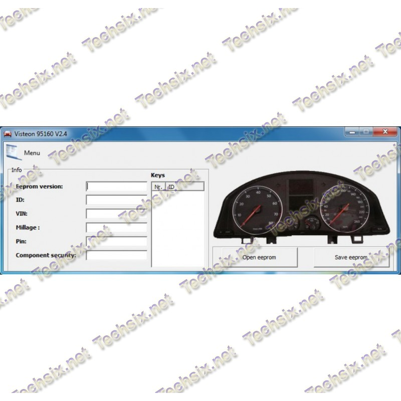 VAG Visteon Dashboard Tool 95160 v2.4