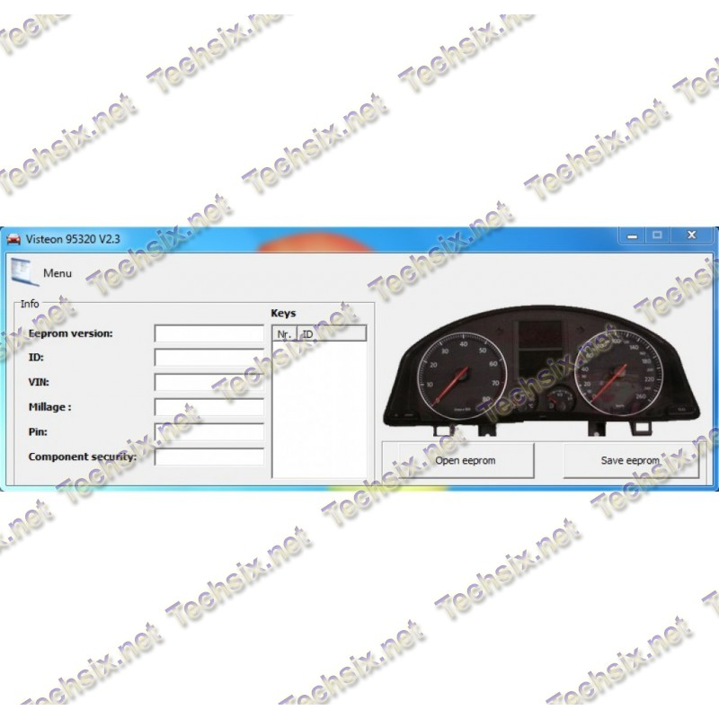 VAG Visteon Dashboard Tool 95320 v2.3