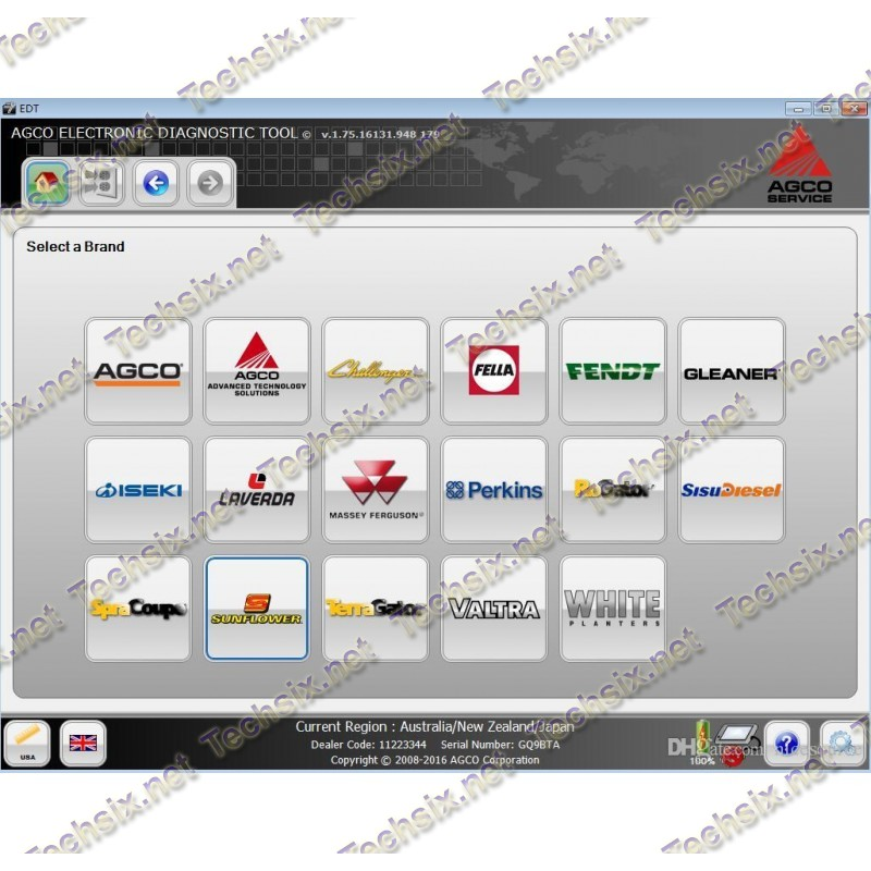 AGCO EDT Activator v1.93 2019 - Unlimited Licence
