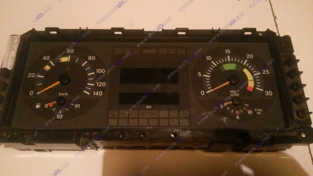 Atego Actros Dashboard Instrument cluster repair instruction
