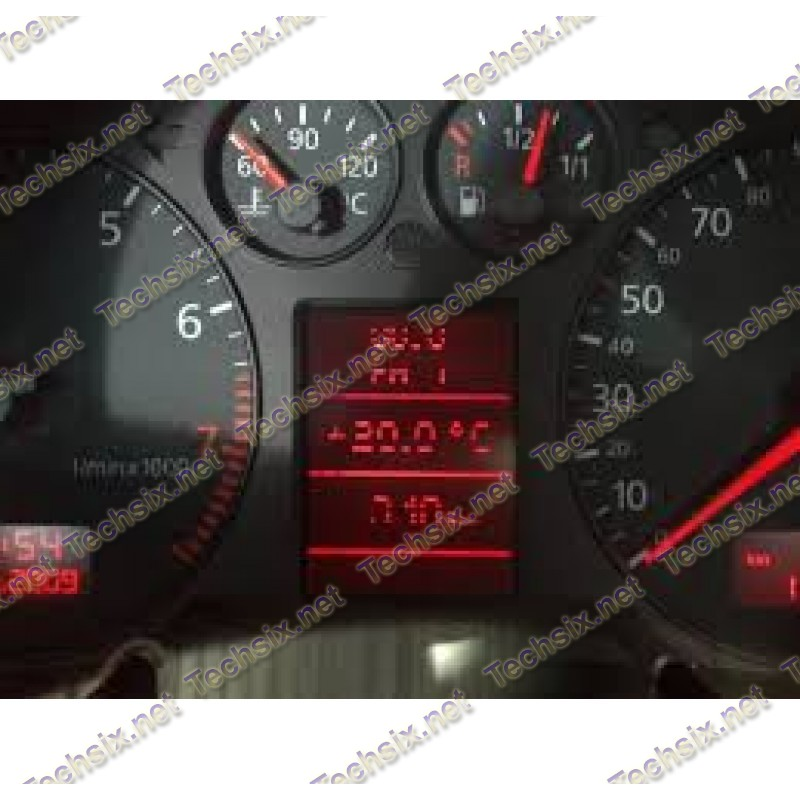 Audi 8E 8L Dashboard Dead pixel repair instruction