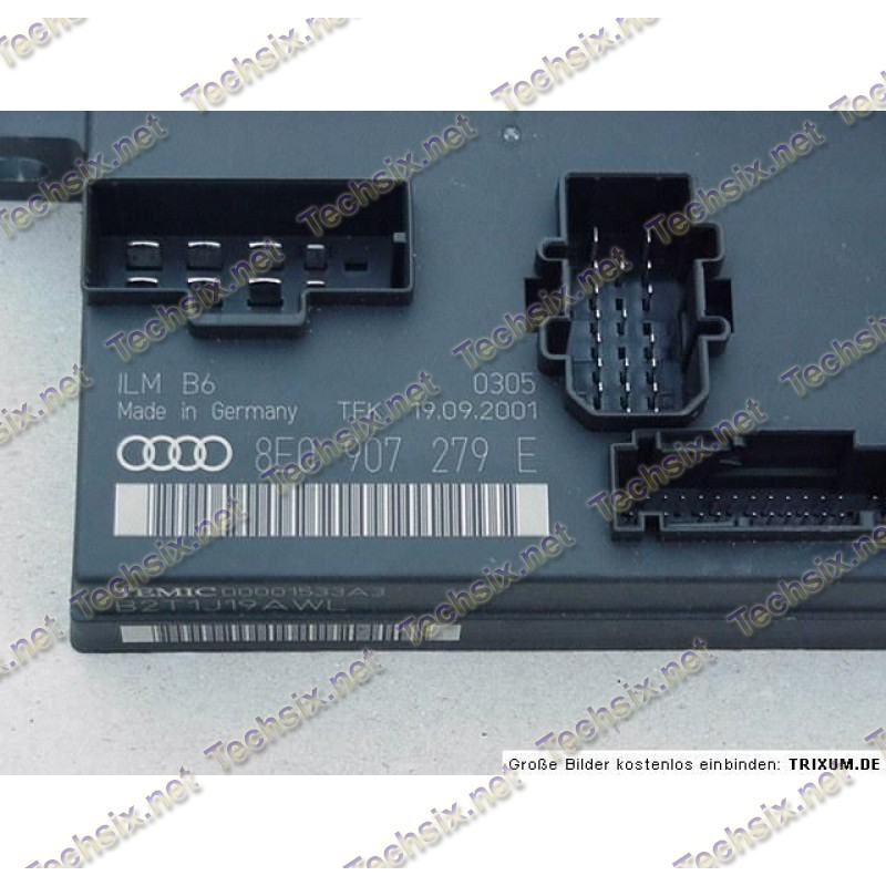 Audi A4 8E 8H ILM Module - Bordnetz repair instruction