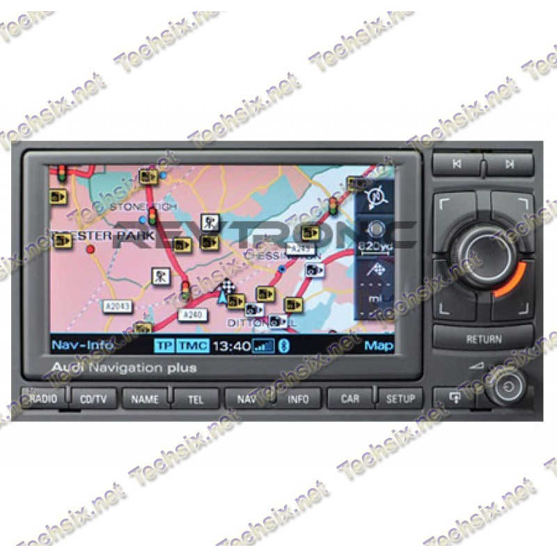 Audi Aisin Navigation RNS-E Unlock CD