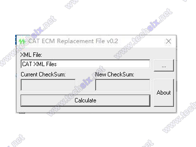 CAT ECM - Replacement File v02