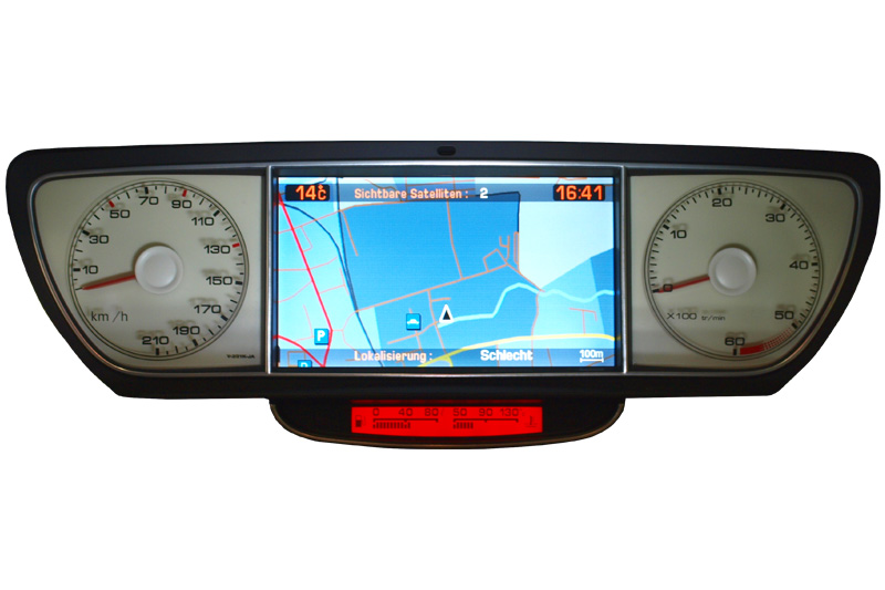 Citroen C8 Navigation screen repair instruction