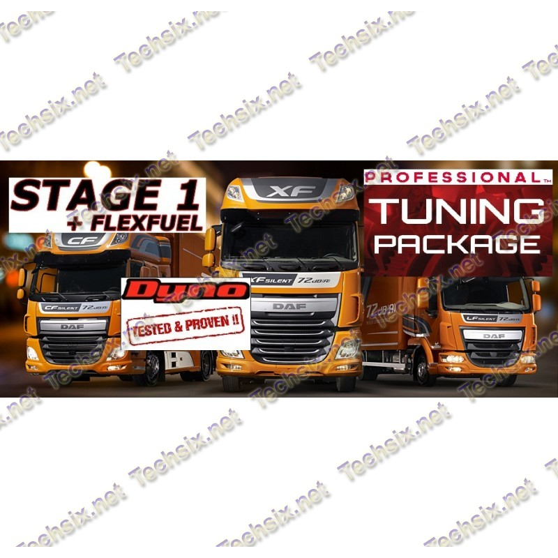 DAF Tuning files package