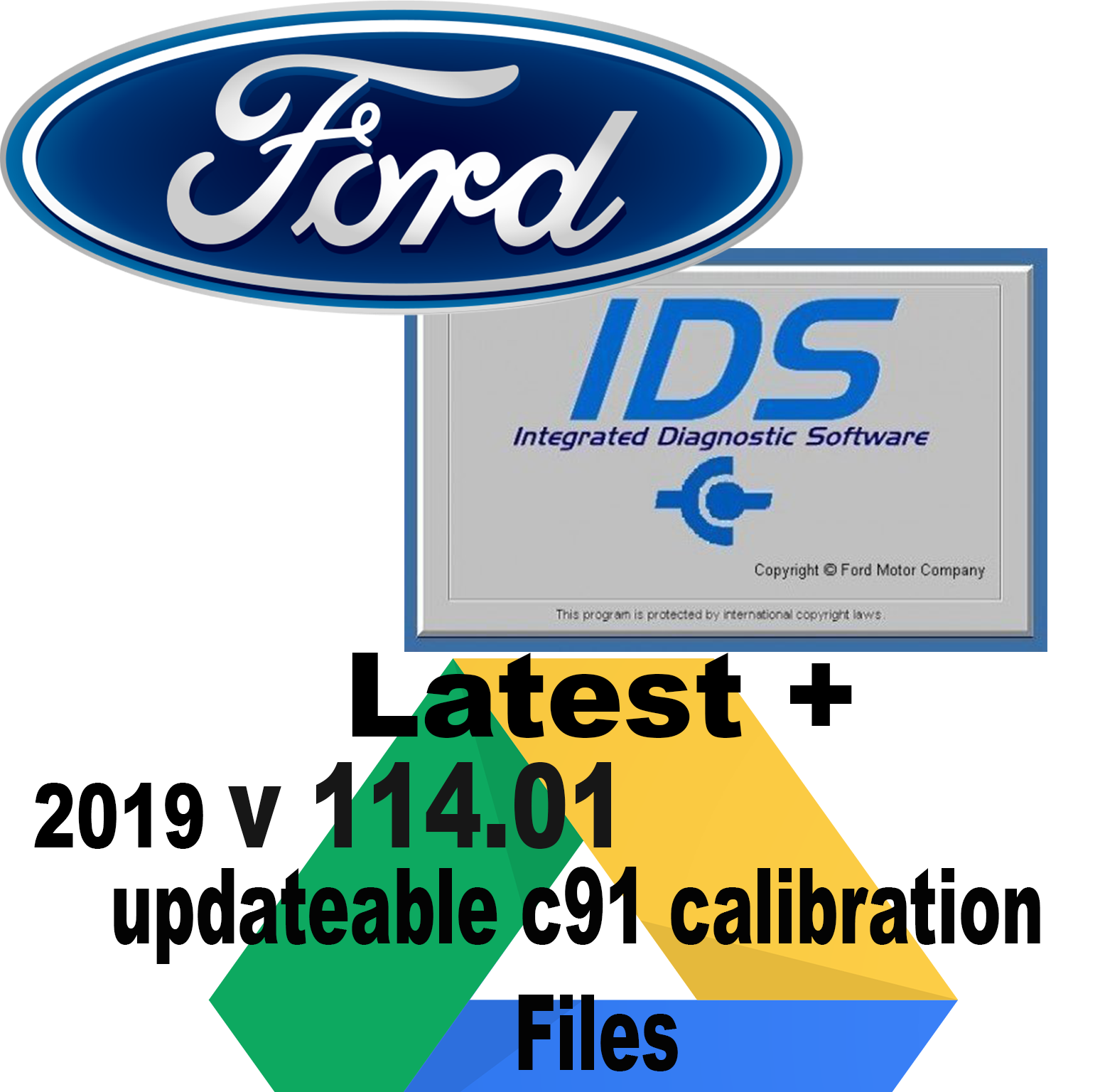 FORD IDS SOFTWARE 114 Online Offline Calibration Native Install