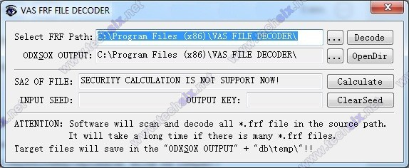 FRF Decoder for VAS and ODIS flash files