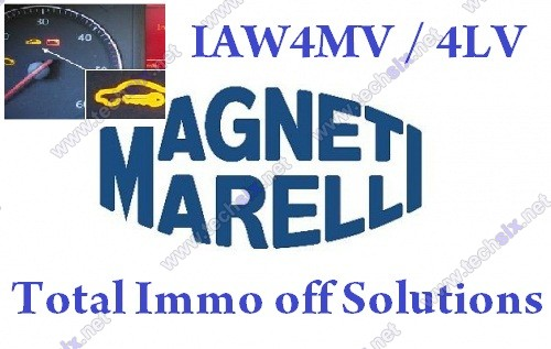 Magneti Marelli IAW 4MV 4LV CAN total Immo off solutions