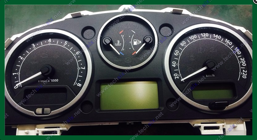 Landrover L322 Dashboard instrument cluster repair instruction