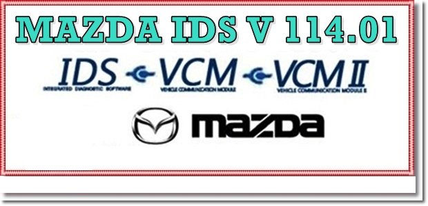 MAZDA IDS SOFTWARE 114 Online Offline Calibration Native Install