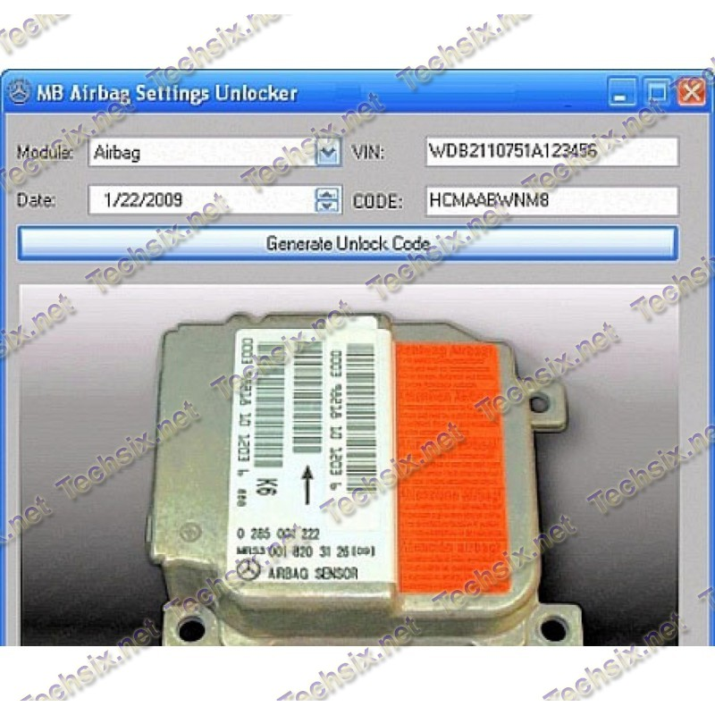 MB Airbag Settings Unlocker