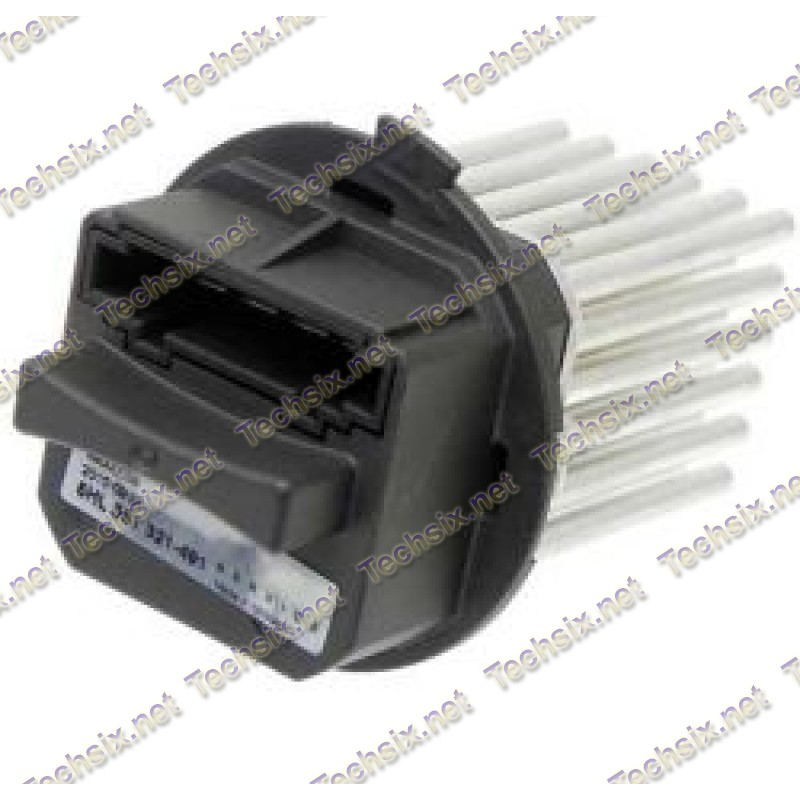 Mercedes Blower Regulator Resistor - BEHR New Type repair instru