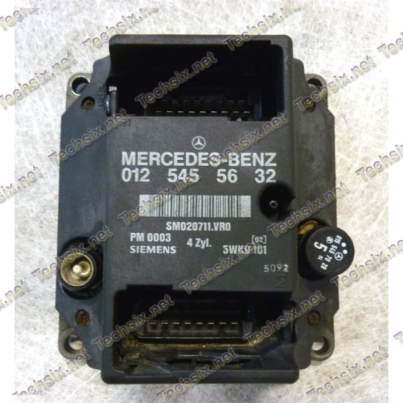 Mercedes PMS Ecu Repair instruction
