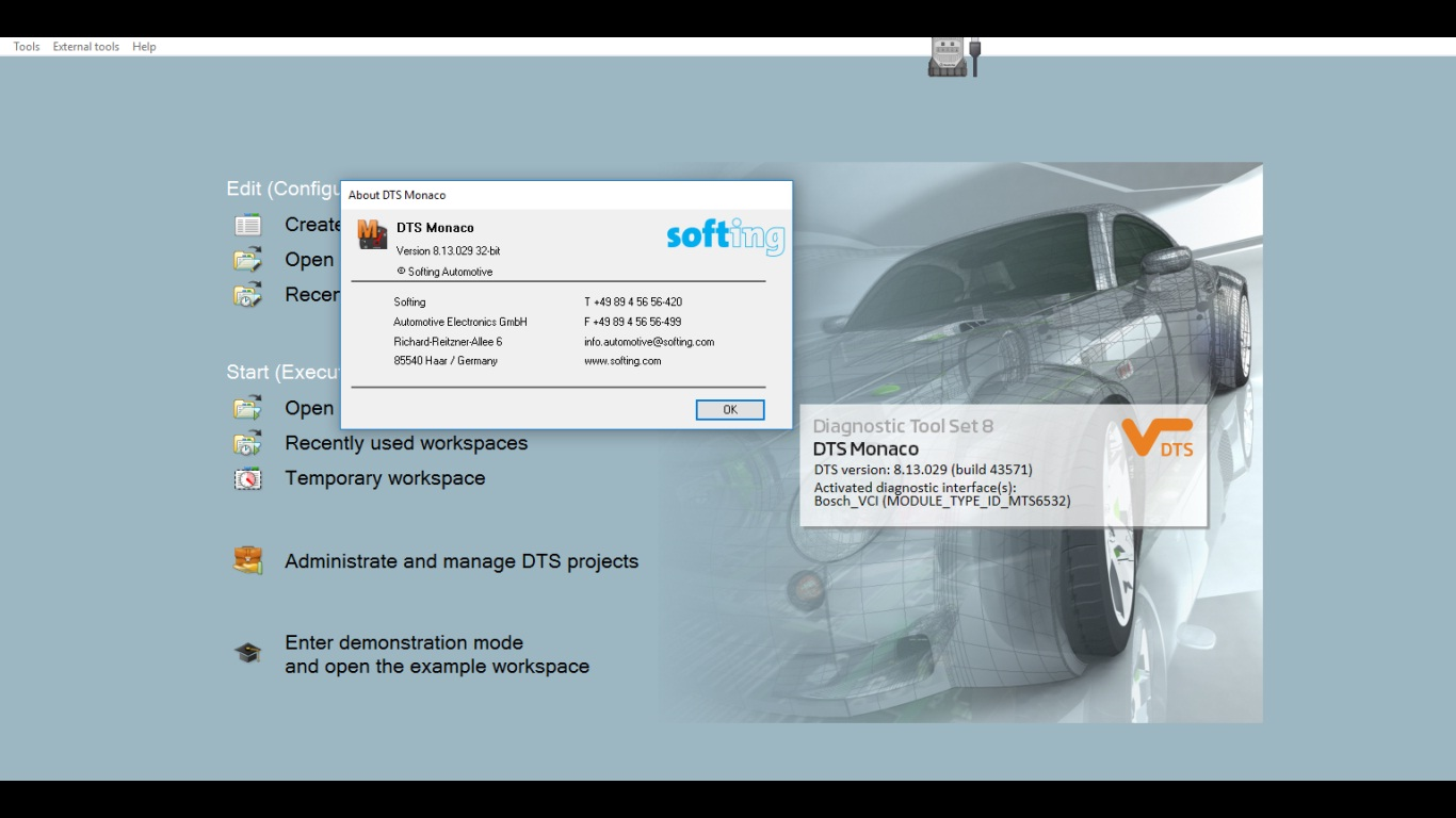 Monaco DTS v8.13.029 DOiP reseller package with license maker