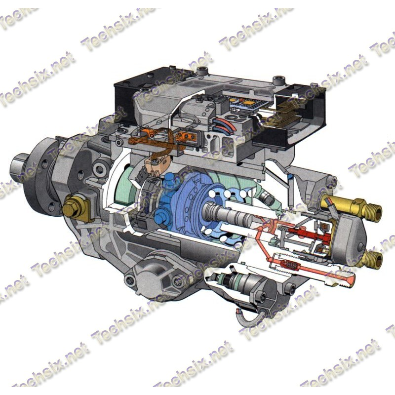 PSG16 Bosch Injection pump electronics repair manual