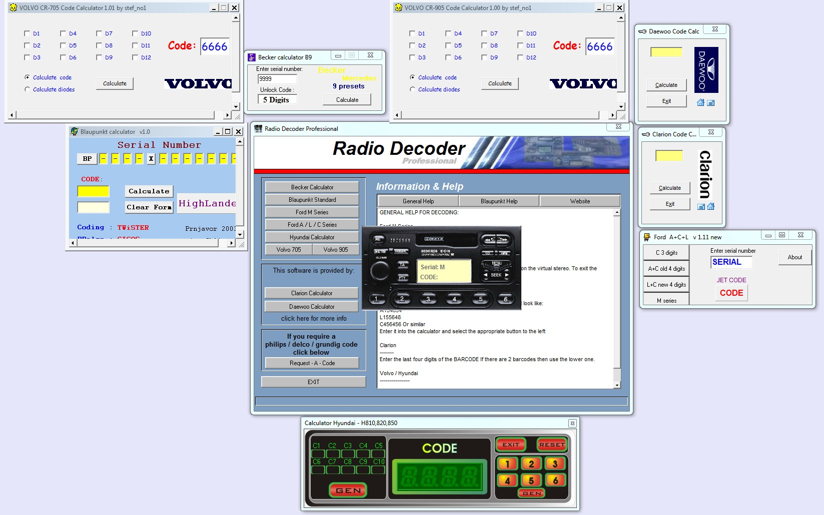 Radio Decoder PRO unlimited version All in One