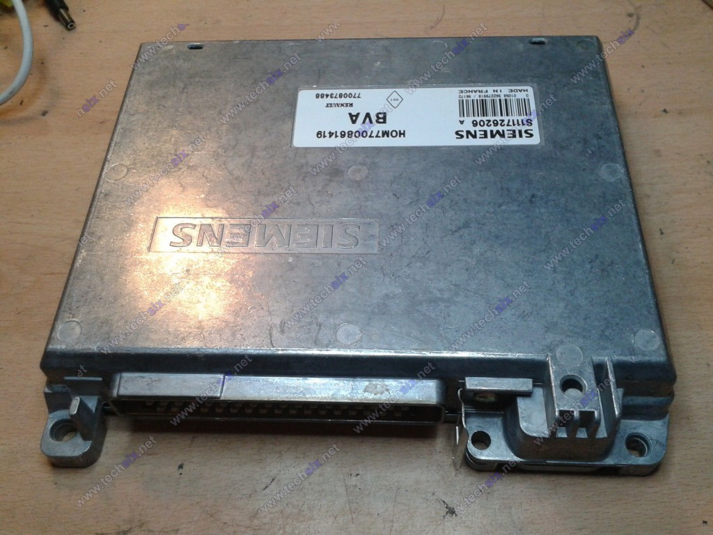 Renault BVA BVM ecu repair instruction