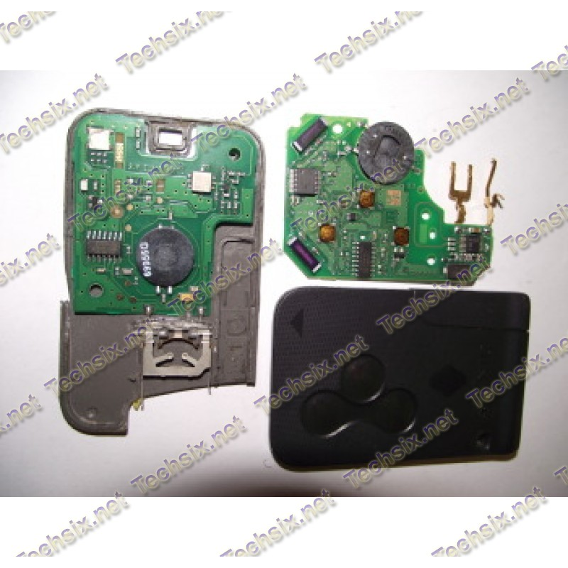 Renault Key cards complete Repair manual