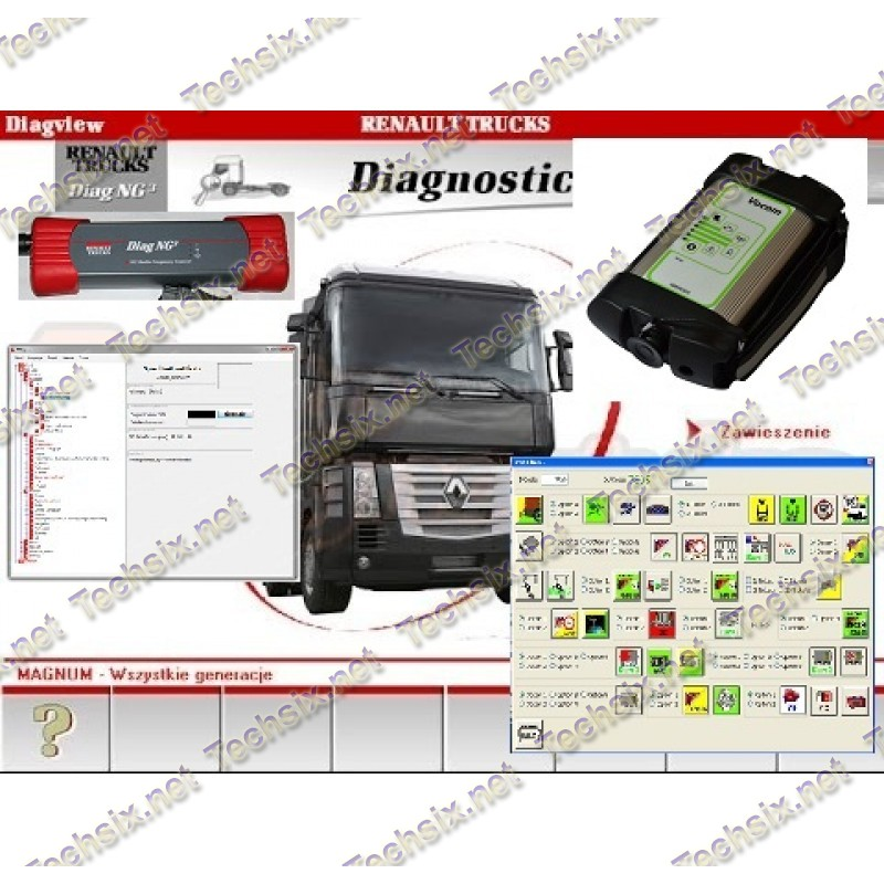 Renault Trucks software package