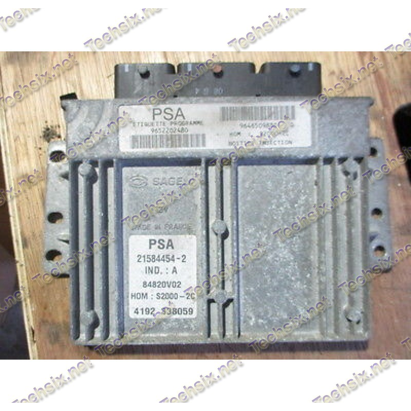Sagem S2000 ECU repair instruction