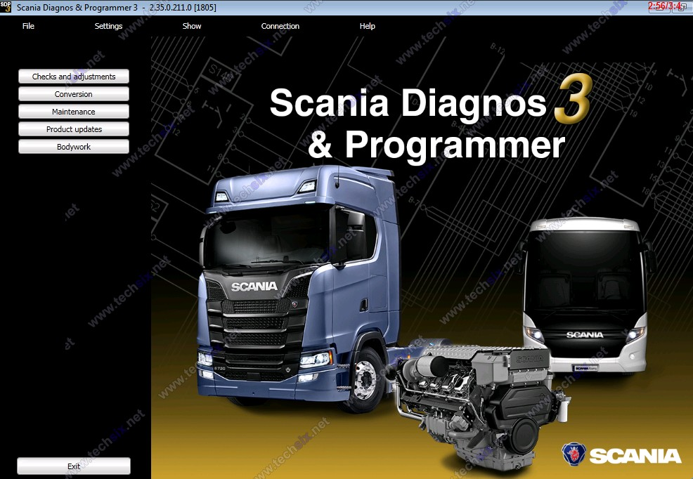 Scania SDP 2.39 + activator (keygen) Level 7 access
