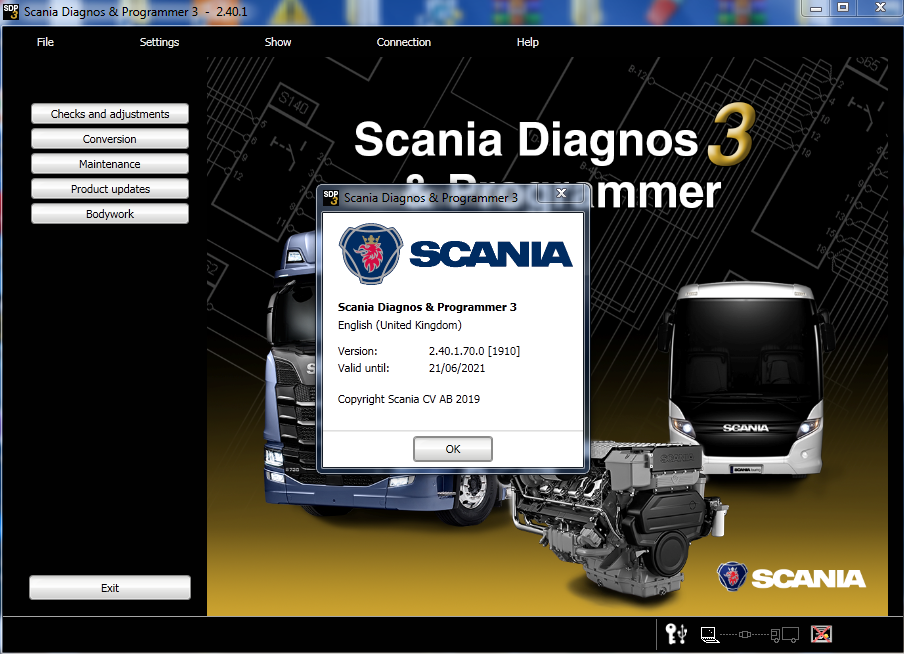 Scania SDP3 version 2.40.1 including patch crack