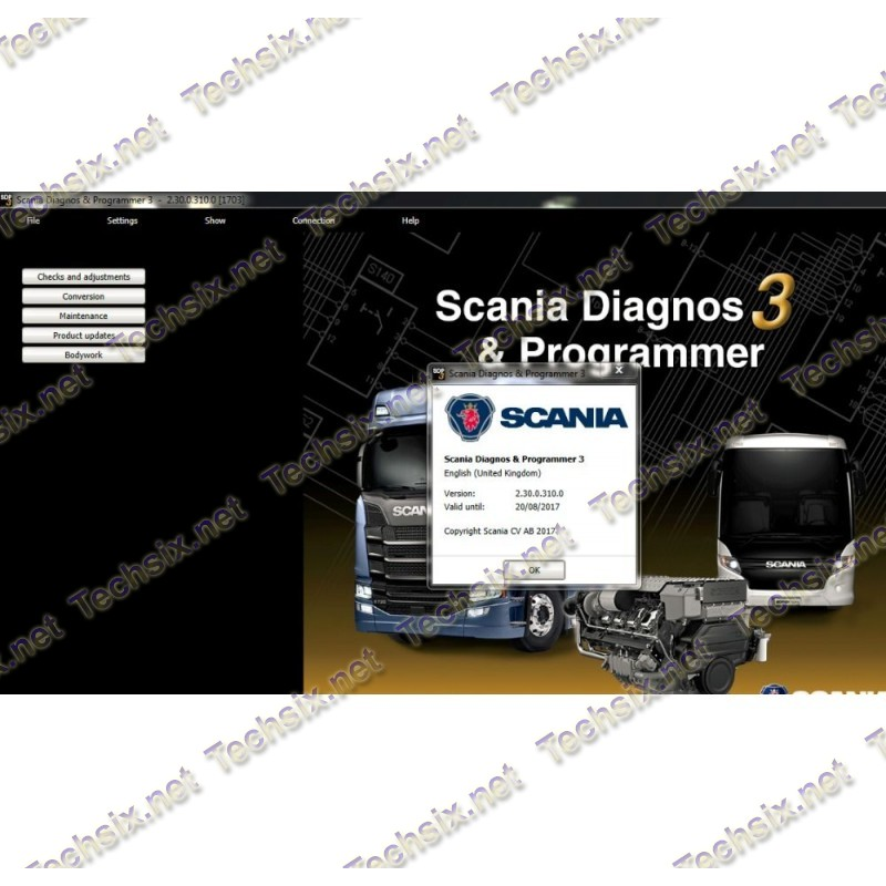 Scania software package