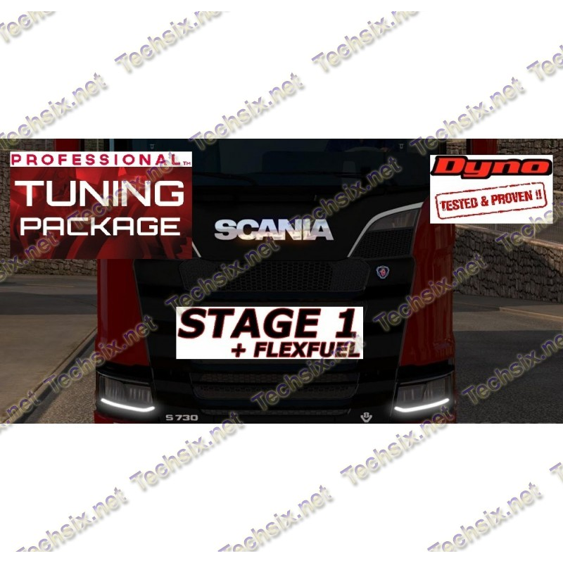 Scania Tuning files package