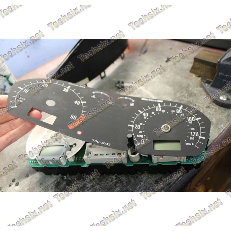 Skoda Fabia instrument cluster repair instruction