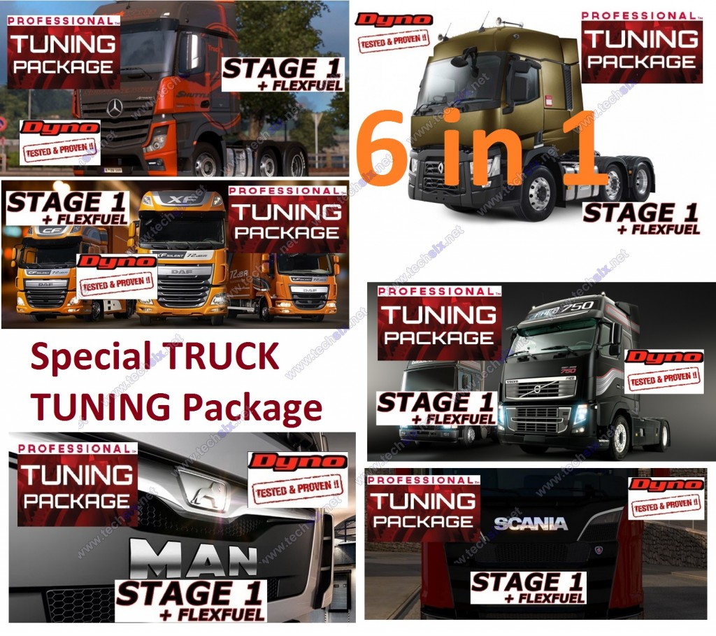 Special Truck Tuning package