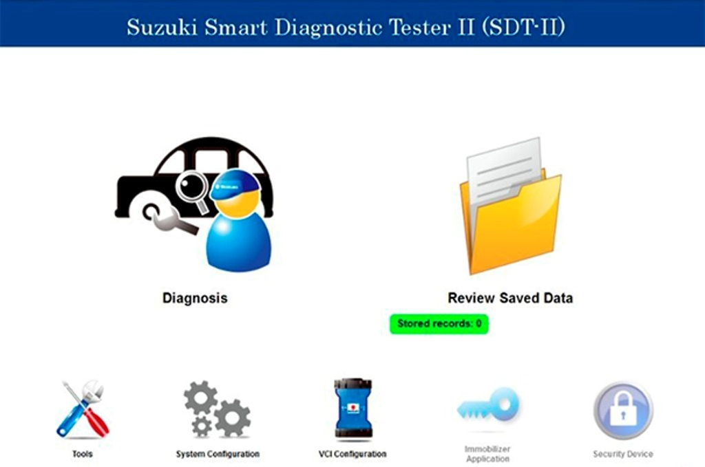 Suzuki Smart Diagnostic Tester SDT 2019 working with VCI2 Immo +