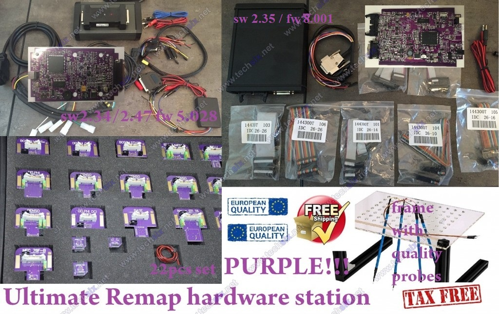 Ultimate Remap hardware station Kess fw 5030 Ktag fw 8.001