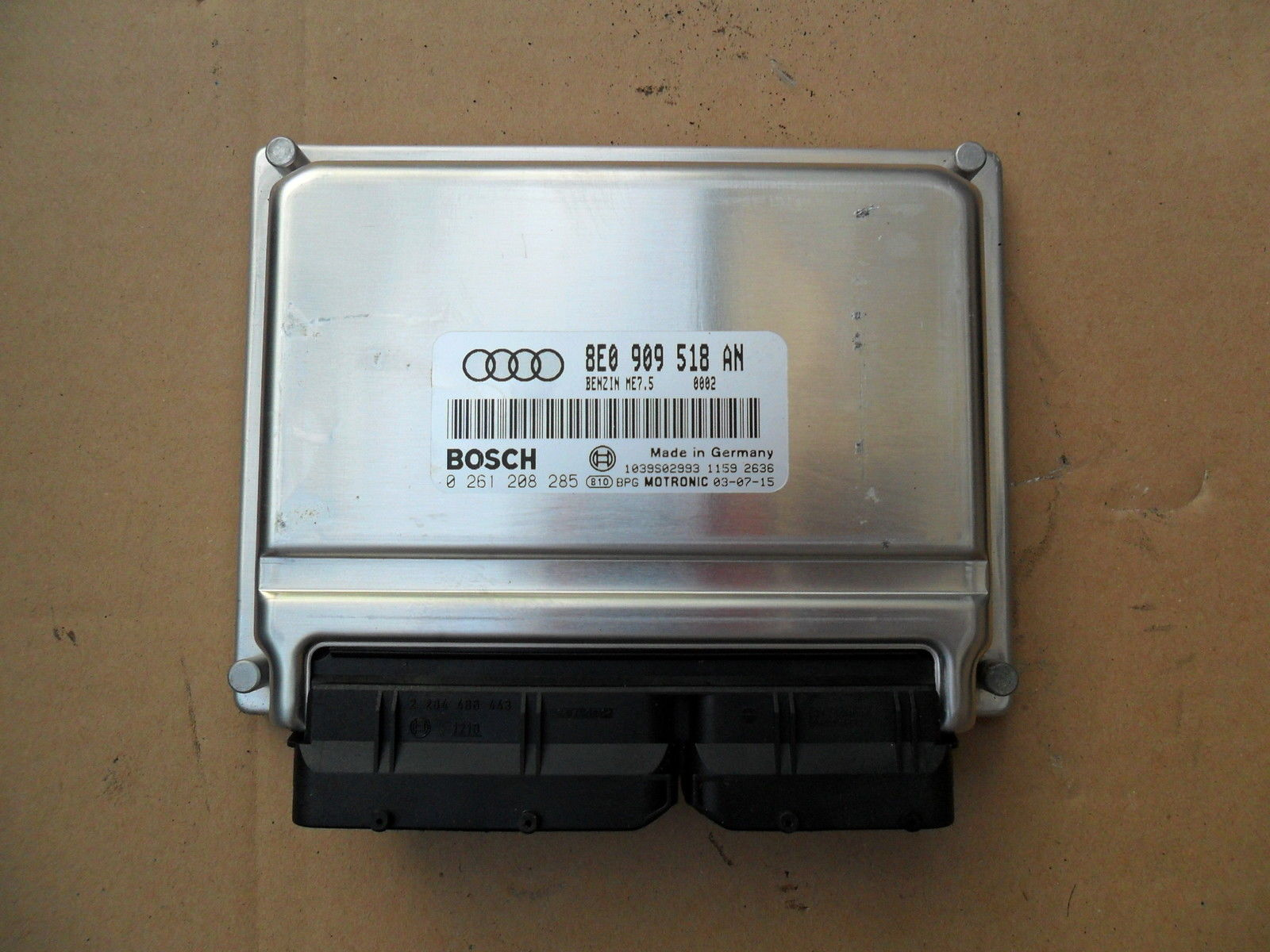 VAG Bosch ME7.5.x ECU repair instruction