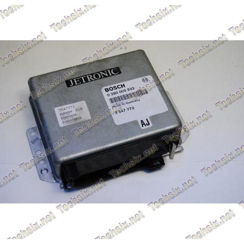 VAG Porsche Volvo Jetronic ECU repair instruction