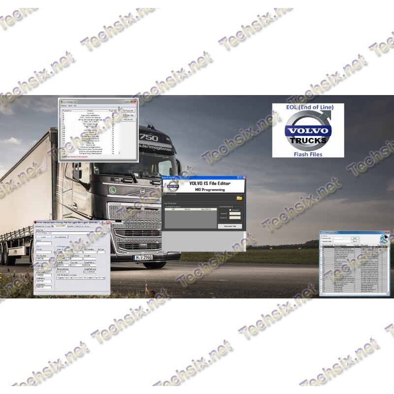 Volvo Truck software package