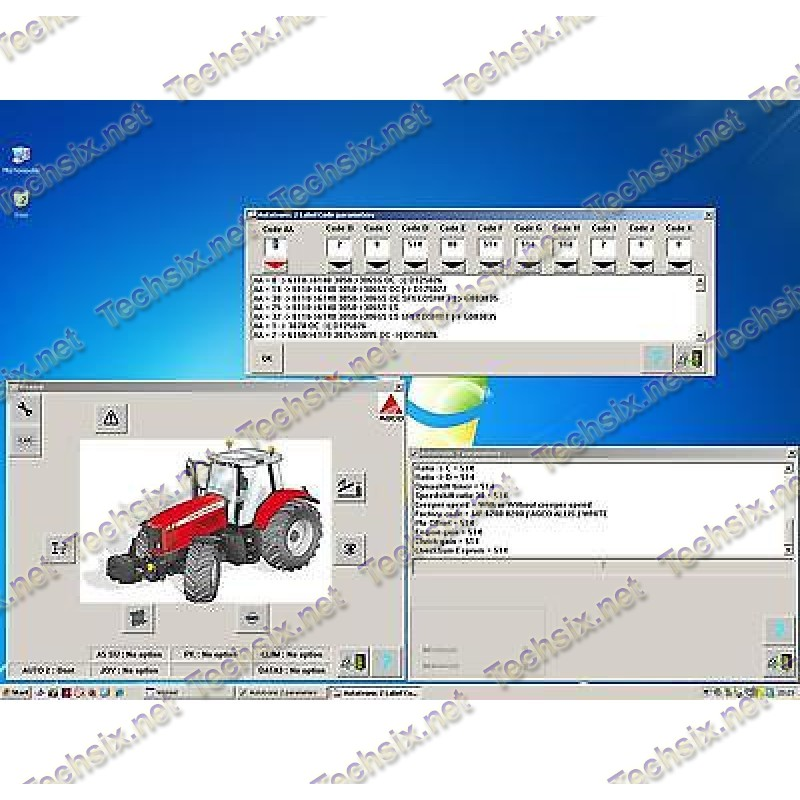 Wintest - Massey Ferguson AGCO v2.20.09 + WinEEM3s / 4s