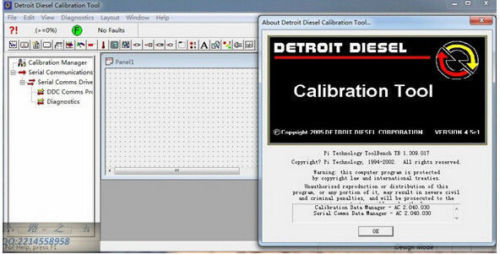 Detroit Diesel Calibration Tool v4.5 + calibration + metafiles