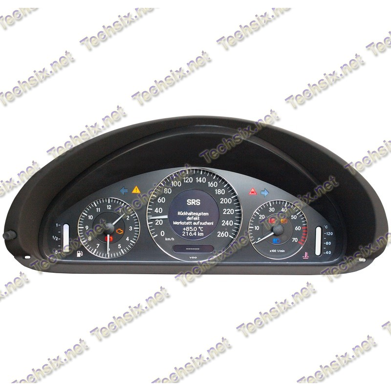 w211-w209 Dashboard repair manual