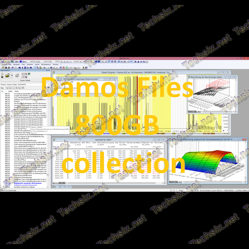 Damos Files 800GB collection