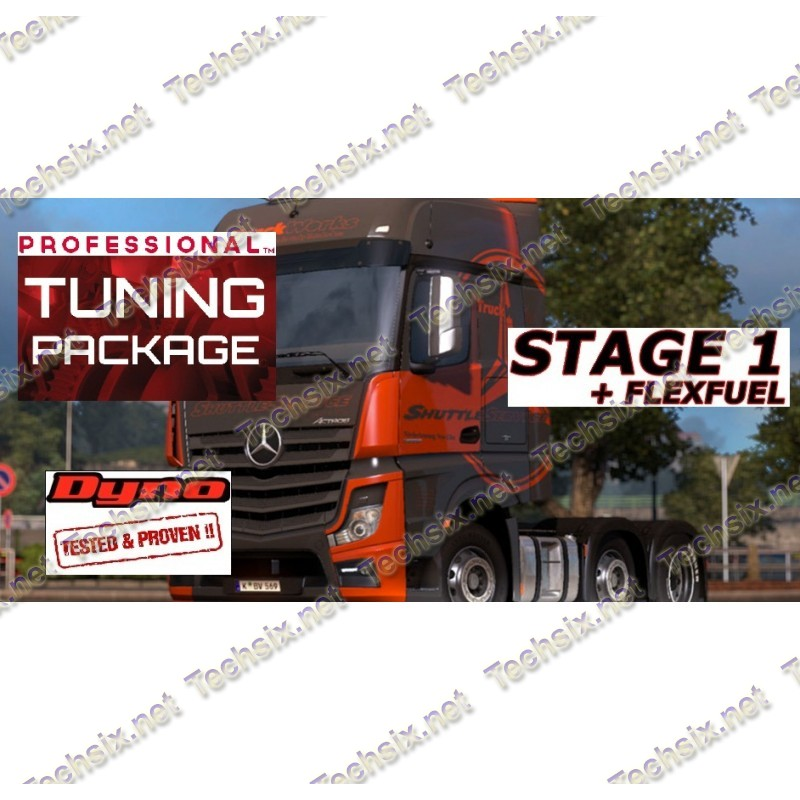 Mercedes Truck - BUS Tuning files package