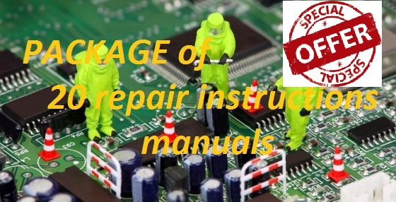 Package of 20 repair manuals of your choice Excellent OFFER!!!