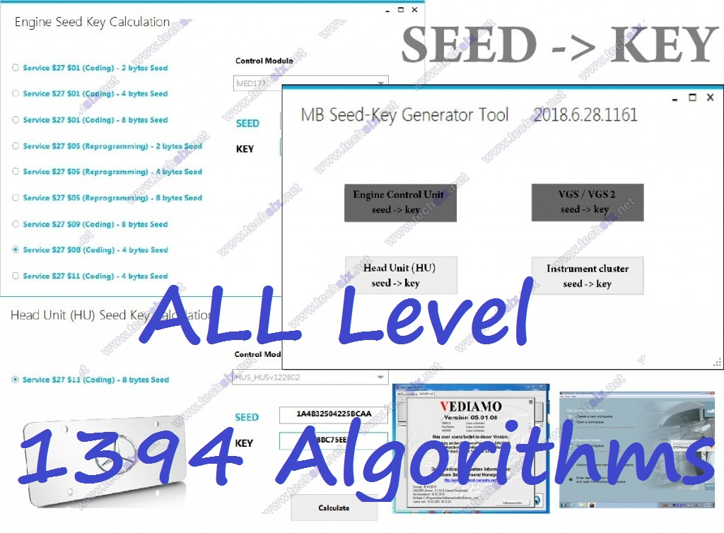 Vediamo Monaco Seed Key calculator generator UNLIMITED SKGT
