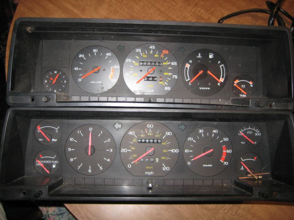 Volvo 700 - 900 - Series 90 Speedometer repair instruction